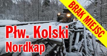 Zorza Polarna, Nordkap 4x4 zimą