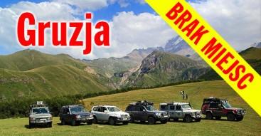 Gruzja samochodami terenowymi