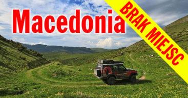 Macedonia wyprawa 4x4