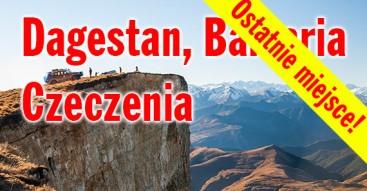 Kaukaz, Czeczenia, Dagestan, Bałkaria - wyprawa z Przygody4x4