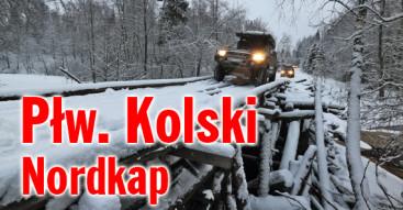 Nordkap, Płw. Kolski, arktyka, Rosja zimą
