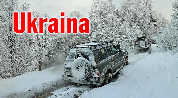 Ukraina wyprawa 4x4 offroad Karpaty ukraińskie bezdroża 4x4