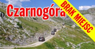 Czarnogóra 4x4 montenegro - podroże bez asfaltu