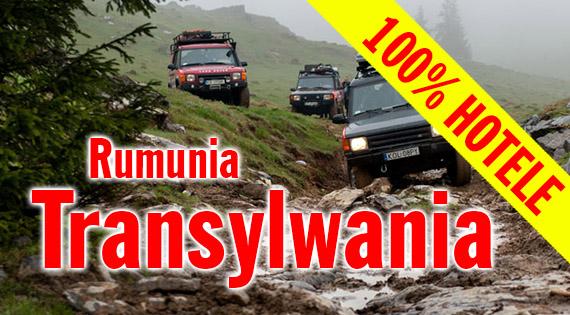 Rumunia - wyprawa 4x4 - wersja hotelowa