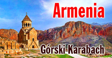 Armenia - podróże 4x4 po bezdrożach Armenii
