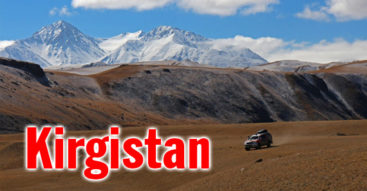 Wyprawa 4x4 przez bezdroża Kirgistanu