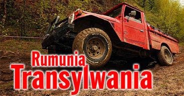 Rumunia 4x4 - podróże z przygodami