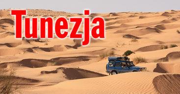 Wyprawa Tunezja 4x4 - morze piasku