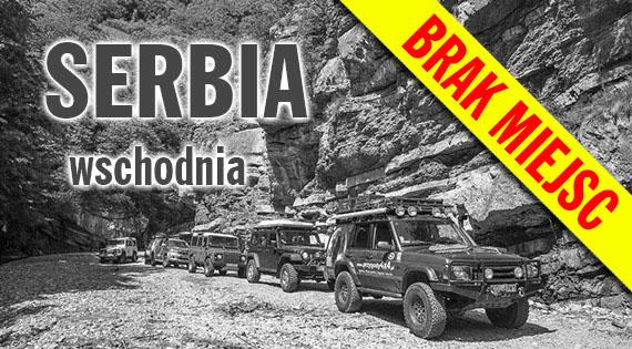 Serbia 4x4 - Podróże samochodami terenowymi przez bezdroża Serbii