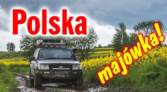 Bezdroża Polski z Przygody4x4 - majówka